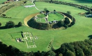 Old Sarum. Fuente: English Heritage