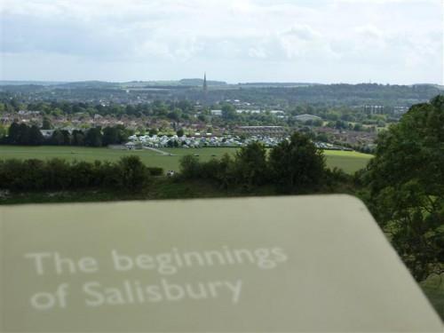 Salisbury desde Old Sarum