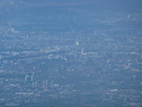 Londres desde las nubes