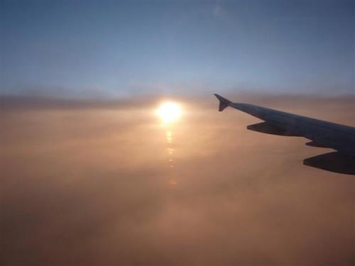 viajo por las nubes: