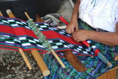 Tejido artesanal maya @3viajes