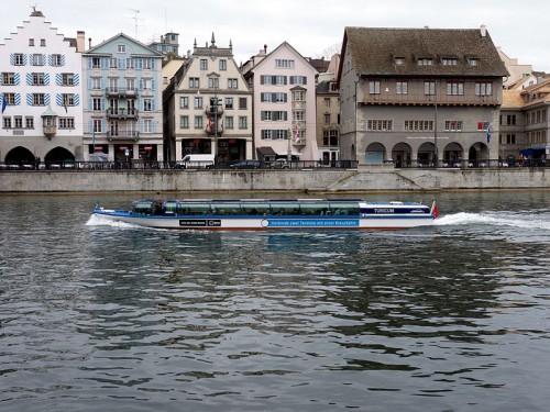 El ferry público de Zurich (@Wikimedia)
