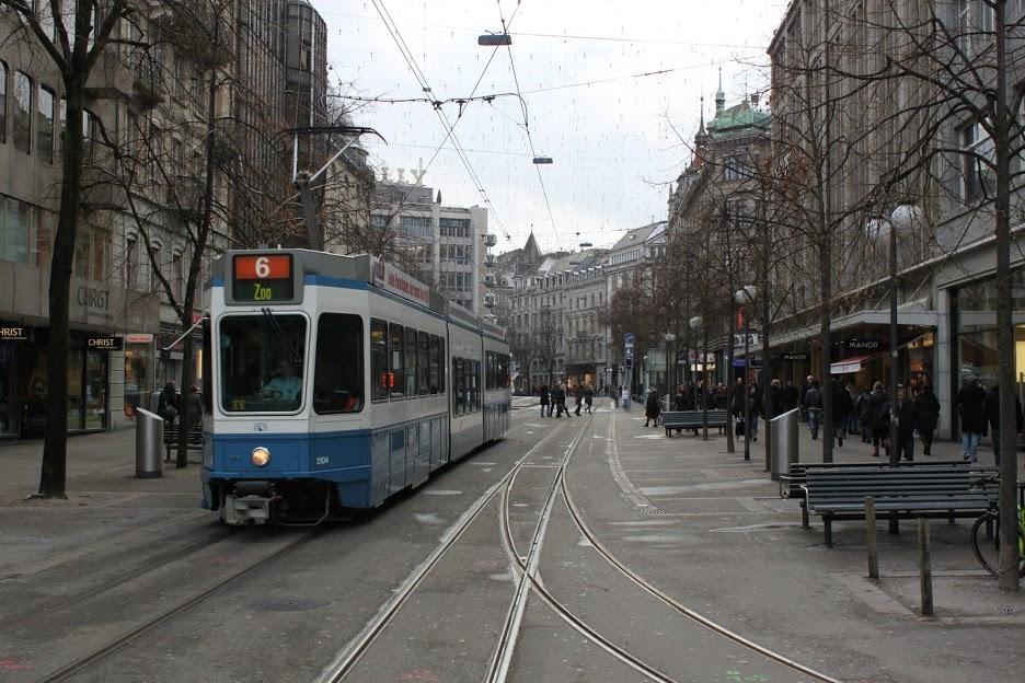 Cerca de la estación de Zurich
