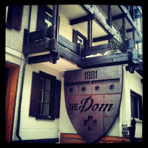 Hotel Dom, el más antiguo de Saas-Fee (Suiza)