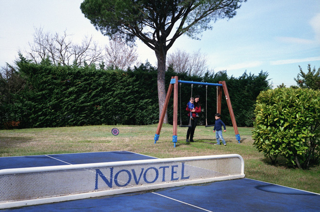 Parque del Novotel Girona