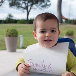Mi hijo Nicolás, disfrutando de la experiencia Novotel & Family