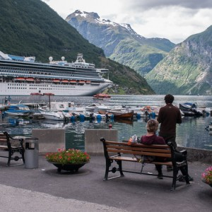 Los paisajes de los fiordos noruegos