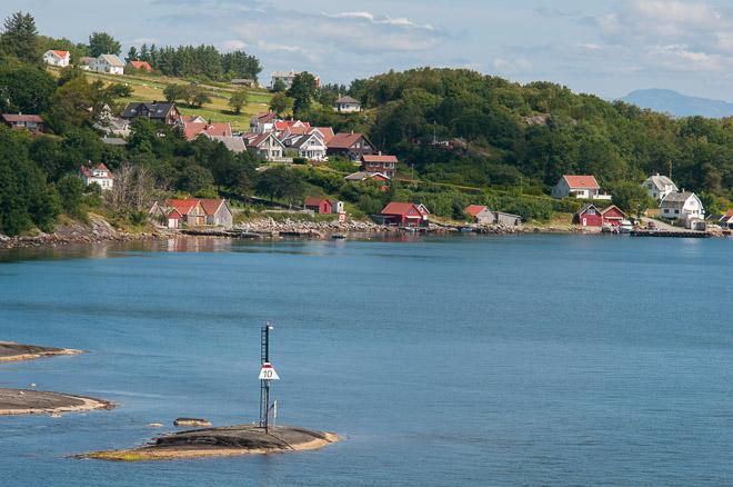 Paisajes preciosos que nos esperan en los fiordos noruegos.