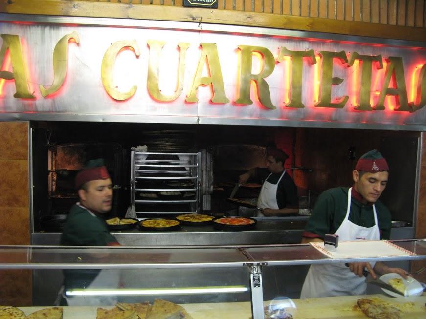 Pizzeros de Las Cuartetas de Buenos Aires