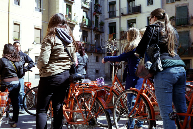 Bicing in Barcelona