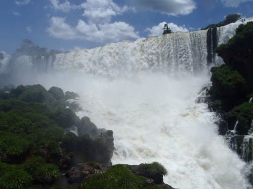 Cascada San Martín de Iguazú