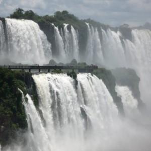 Las cataratas de Iguazú en Argentina