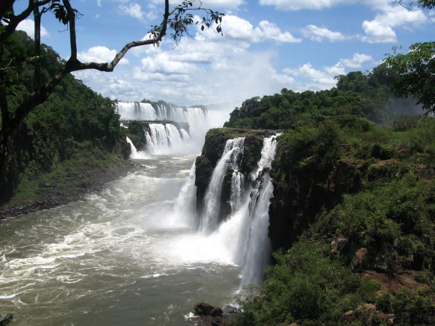 Garganta del Diablo de Iguazú en Argentina