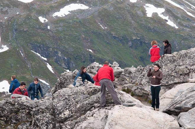 El paisaje se torna yerno a partir de los 600 m. de altura