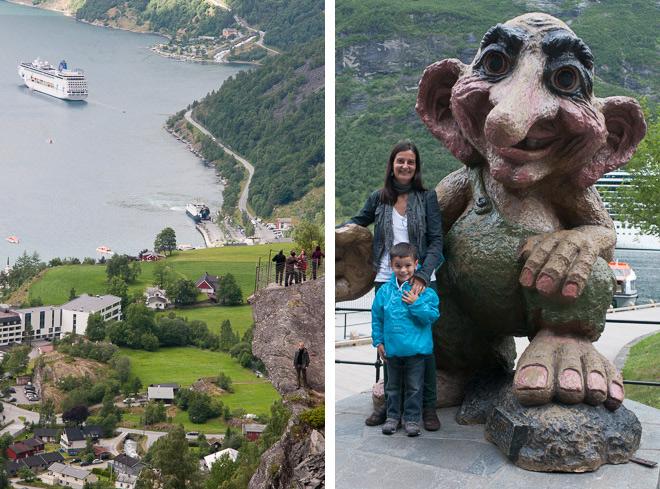 Pasando un día en Geiranger, Noruega