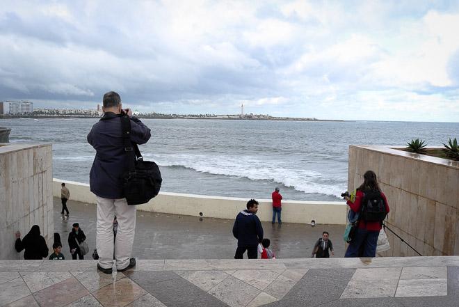 Paco Elvira en un blogtrip a Casablanca, noviembre 2012