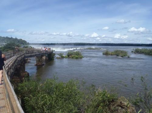 Pasarelas de las Gargantas del Diablo en Iguazú