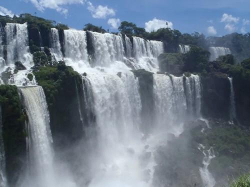 Vista desde la isla de San Martín en Iguazú