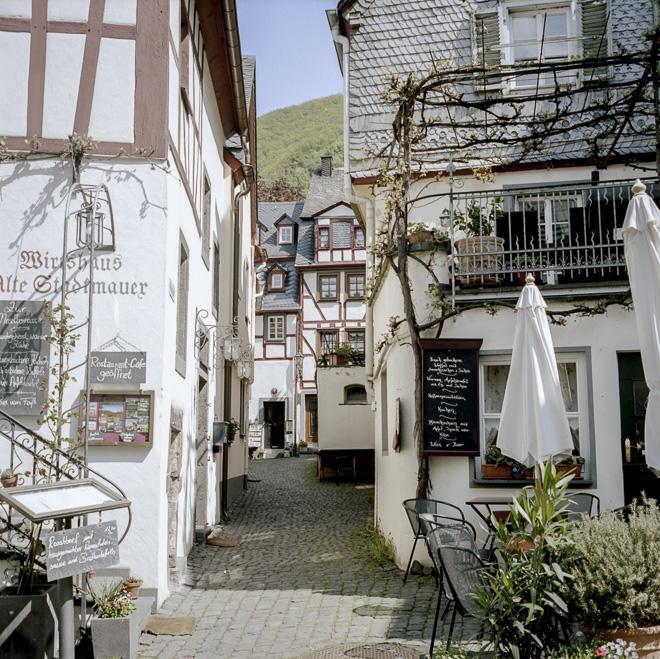 Callejuelas de Beilstein en la Alemania Romántica