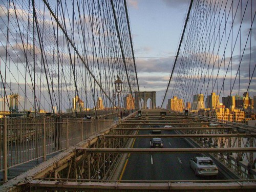 Pasarela de Brooklyn Bridge