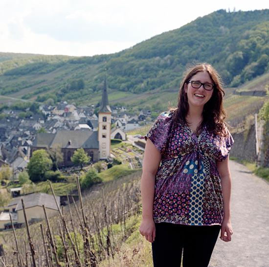Angeline Lenz en Calmont