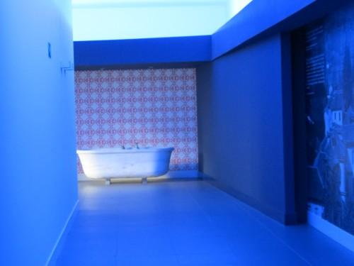 Interior del nuevo edificio del balnerario Las Caldas @3viajes