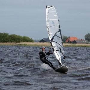 Windsurf en Frisia
