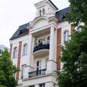 Fachada de nuestro apartamento en Berlín