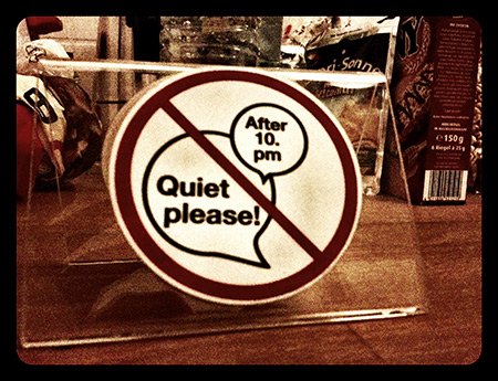 Quiet please! Berlín