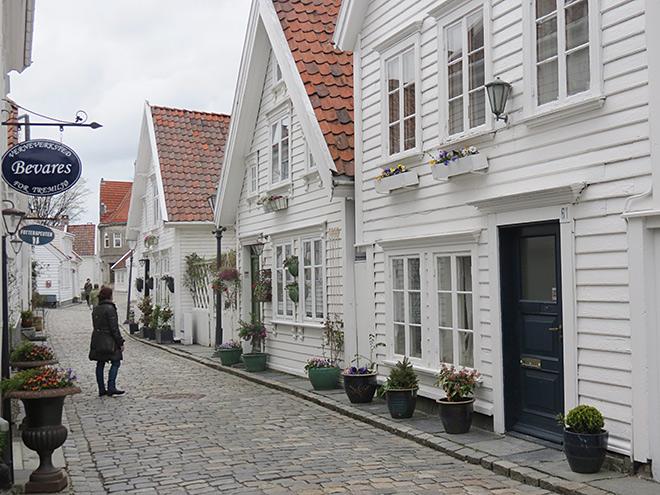 Calles de Stavanger