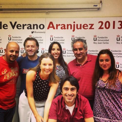 El equipo de Travel Inspirers en Aranjuez #BlogsTurismo