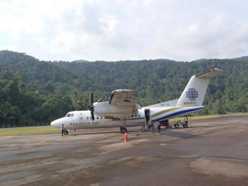 Avión de Berjaya Air