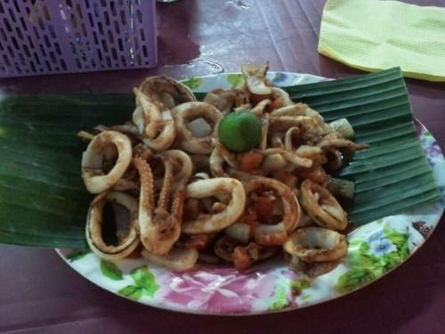 Nuestro plato de calamares