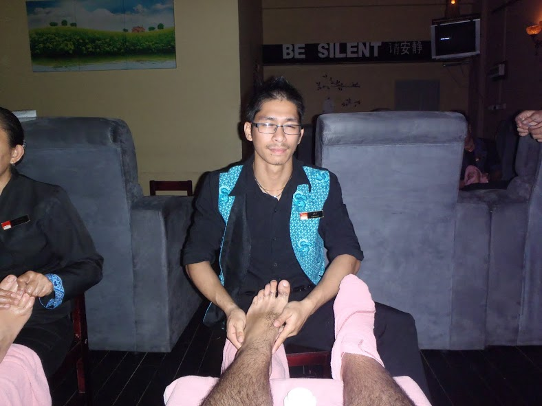 Masaje de pies en Kota Kinabalu