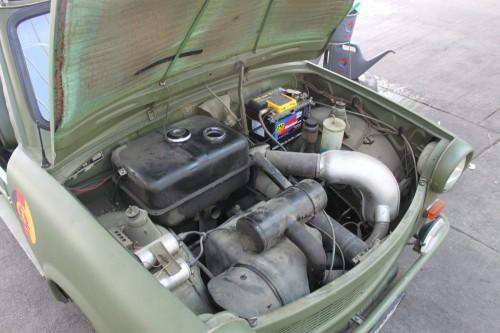 Motor de nuestro Trabant