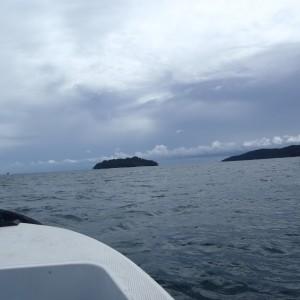 Navegando por Kota Kinabalu
