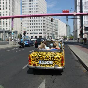Ruta por Berlín con un Trabant