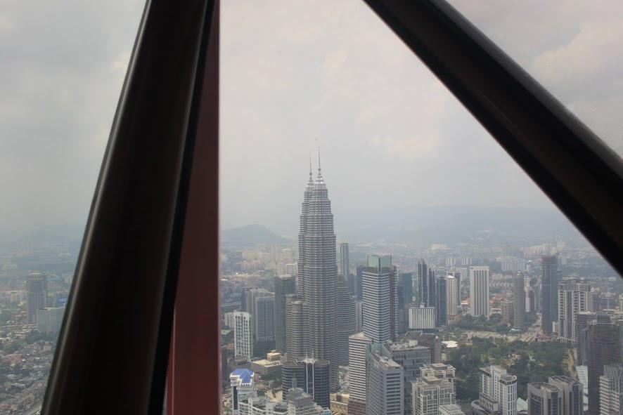 Las Torres Petronas desde la KL Tower