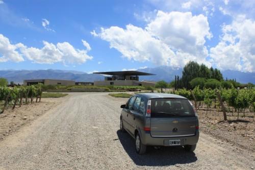 Visitando bodegas en Mendoza