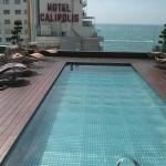 Piscina de la terraza del Hotel Spa de Sitges