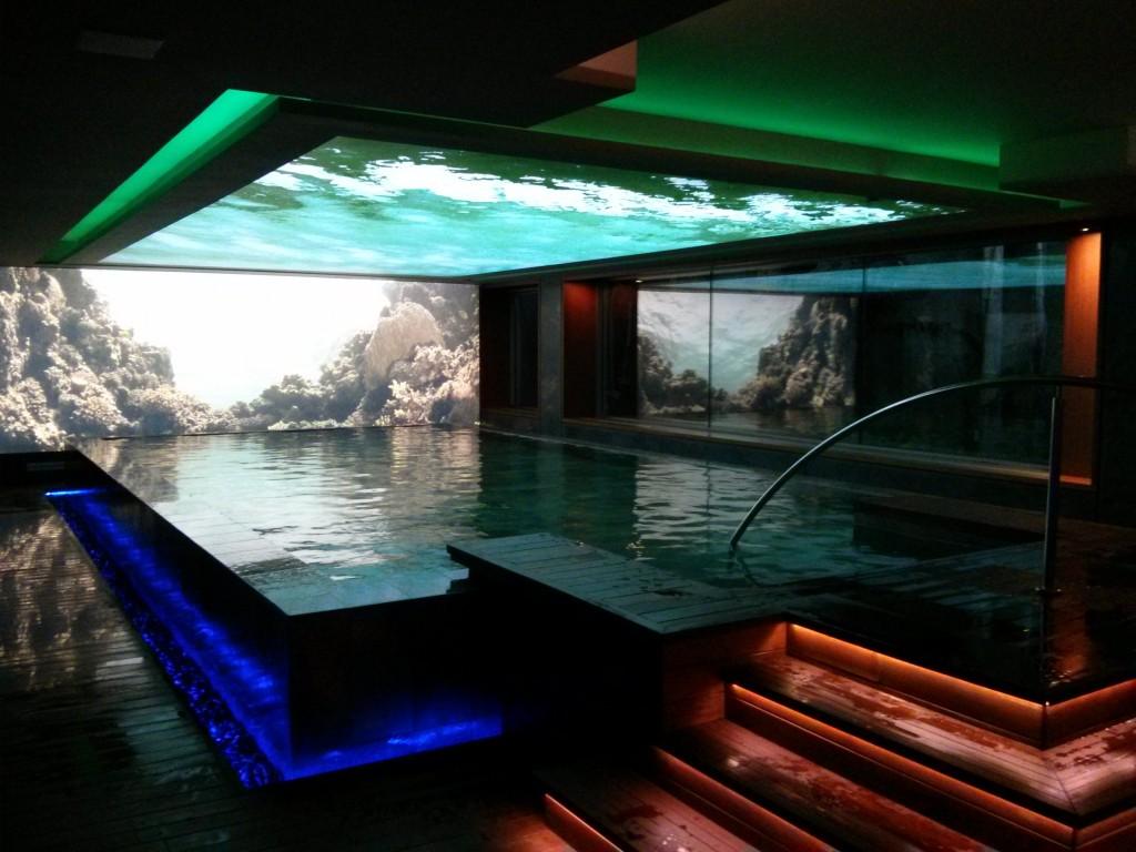 Flotarium del spa de Sitges