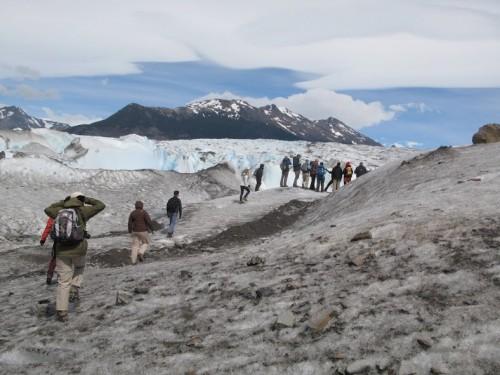 Trecking por el glaciar de Viedma