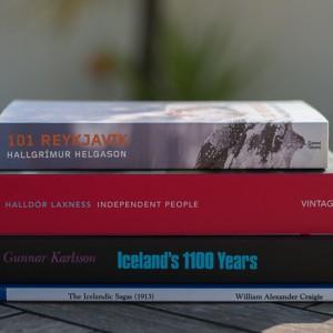 Mis libros de Islandia