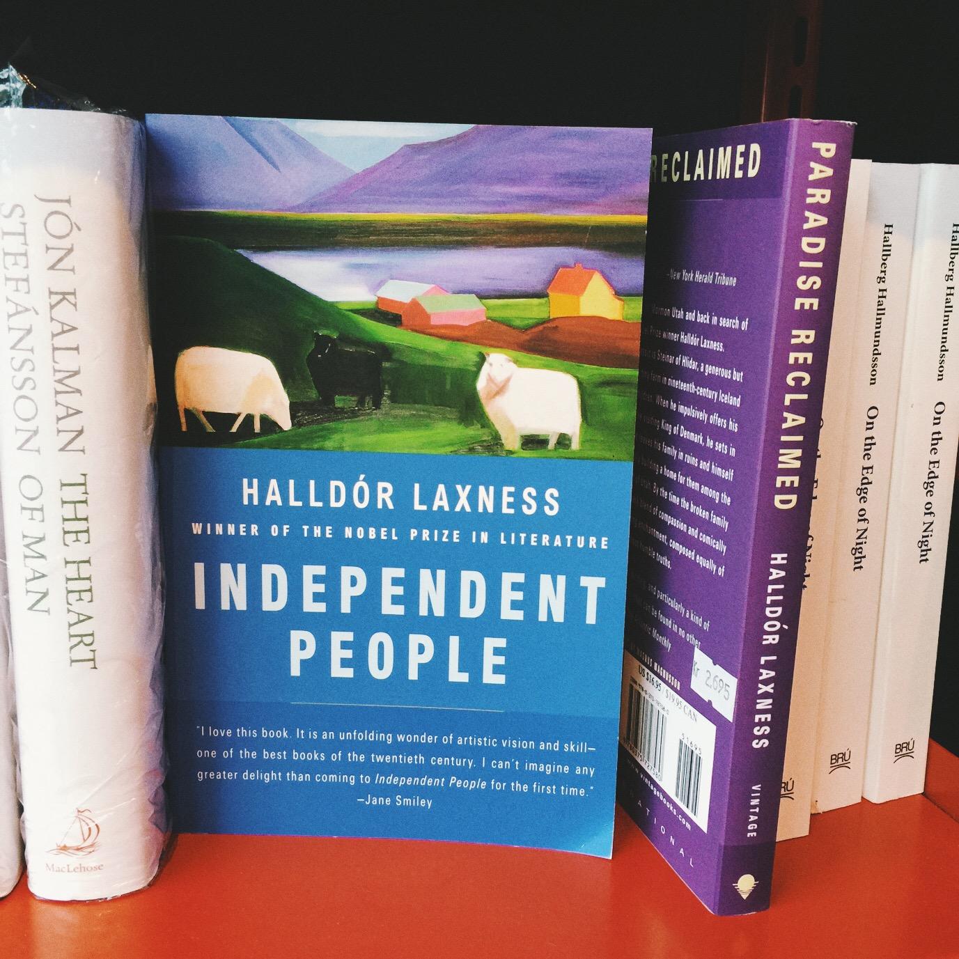 Independent People, de Halldór Laxness, es el libro más importante de la literatura islandesa en el s. XX