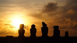Puesta de sol en Rapa Nui - 1