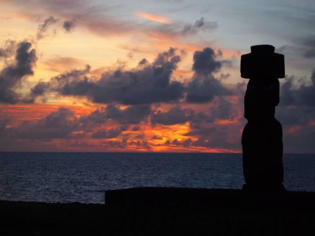 Puesta de sol en Rapa Nui - 3