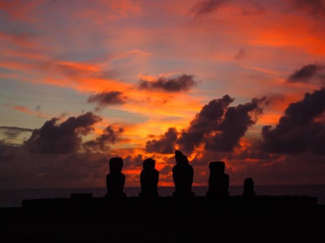 Puesta de sol en Rapa Nui - 4