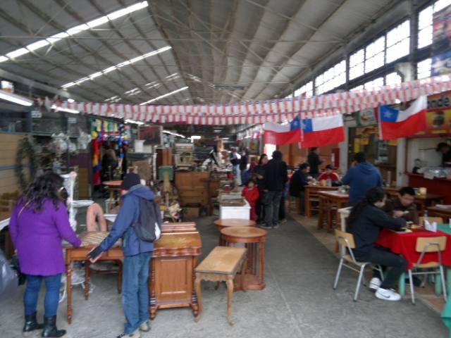 El mercado persa de Santiago de Chile