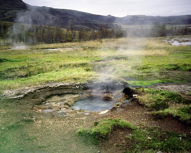 Geisers en Islandia, en la ruta del Círculo de Oro