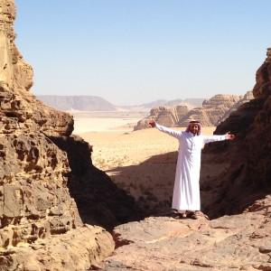 Beduino en el desierto de Wadi Rum @3viajes